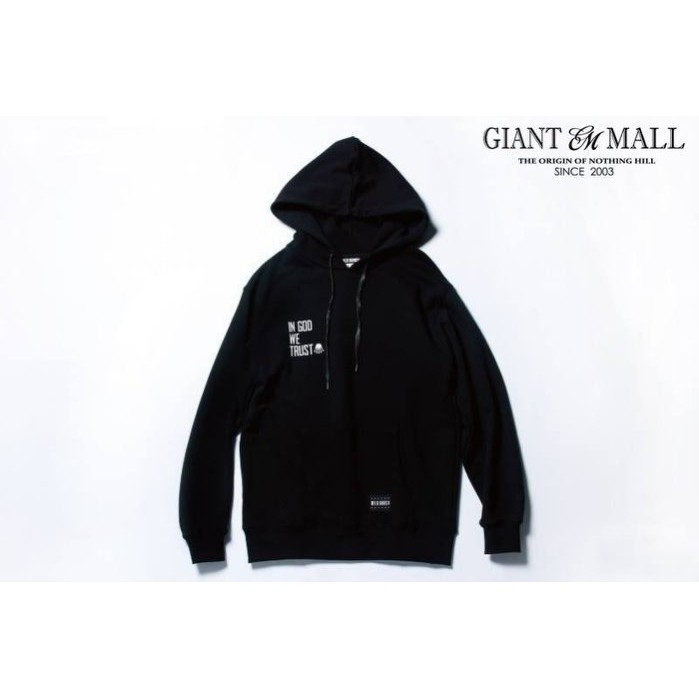 WILD BUNCH FEAT.GODS HOODIE 91 帽T 黑色【 GIANT MALL 】