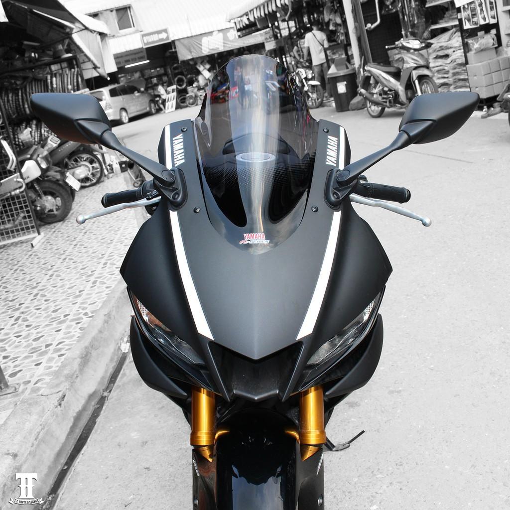 Moto橘皮 R3 風鏡 碳纖維 R15 CBR650R CBR150R CBR500R NINJA400 ADV r6