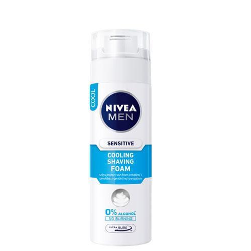 妮維雅極淨酷涼刮鬍泡200ml【愛買】