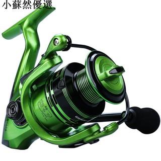 雙軸超輕 13+1BB全金屬頭捲線器 捲線器 釣魚輪 路亞輪 海竿輪 遠投紡車輪1000-7000型小蘇然優選 臺南市