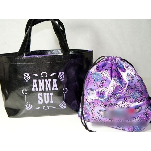 "ANNA SUI~日本贈品袋"" 購物袋 環保袋 便當袋 手拎包 贈品袋包"