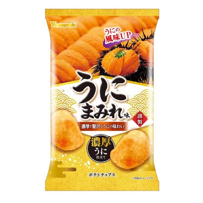 山芳製菓北海道濃厚海膽風味洋芋片48g ポテトチップスうにまみれ味| 蝦皮購物