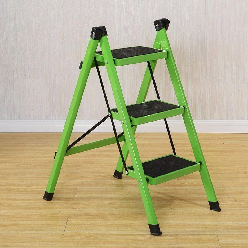 梯子家用折疊梯凳二三四五步加厚鐵管室內人字梯三步梯小梯子踏板