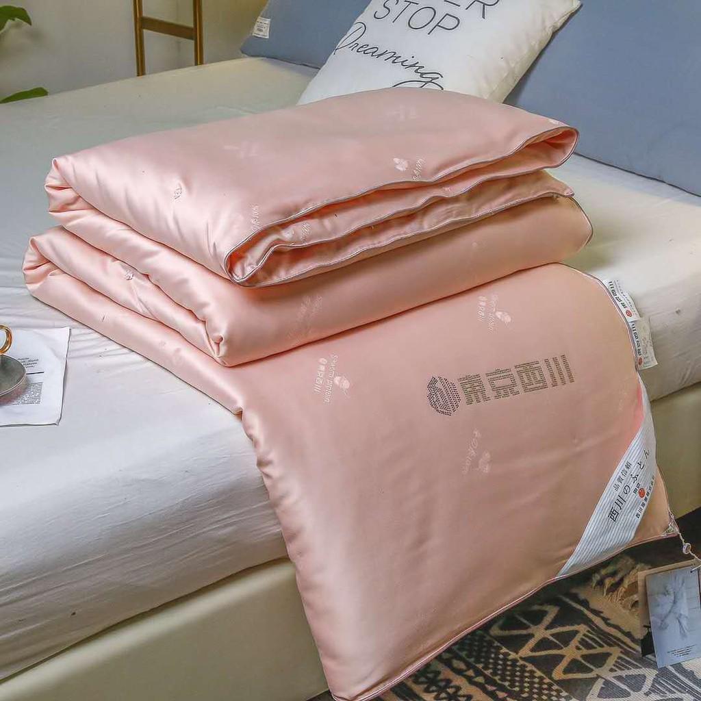 2021上新【熱銷】【】日本東京蠶絲被冬被加厚保暖8斤桑蠶絲被春秋被6斤雙人全棉被芯