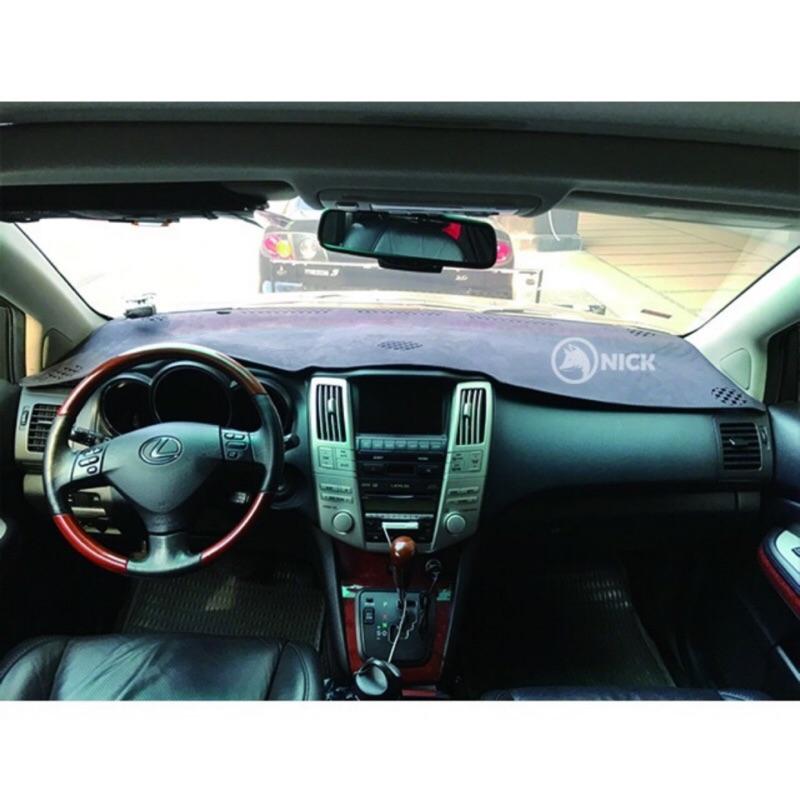 尼克 LEXUS IS250 IS300 ES300 ES350 RX330 RX350 RX270 麂皮避光墊 儀表板