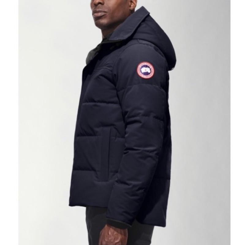 正品保真男女同款Canada goose加拿大鵝MACMILLAN派克羽絨外套  共有黑色海軍藍迷彩三色可選