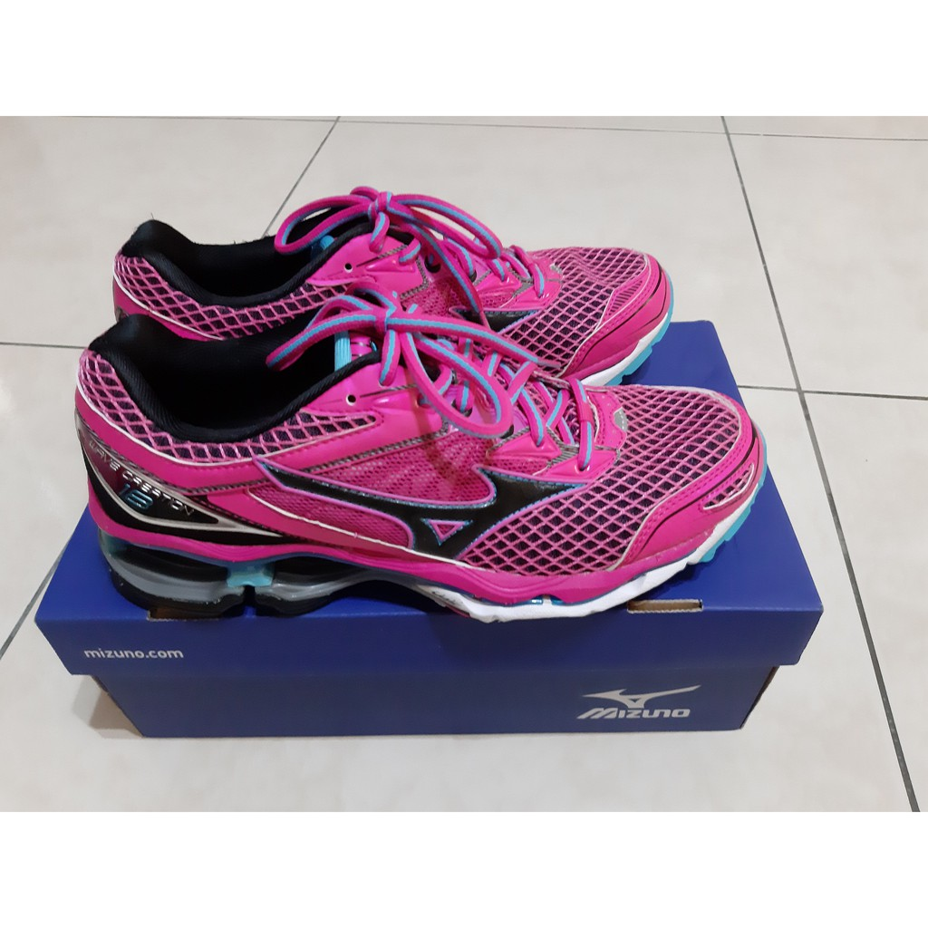 【現貨】Mizuno 美津濃 Wave creation 18 緩震型跑鞋  買就送韓國可愛冬襪1雙~