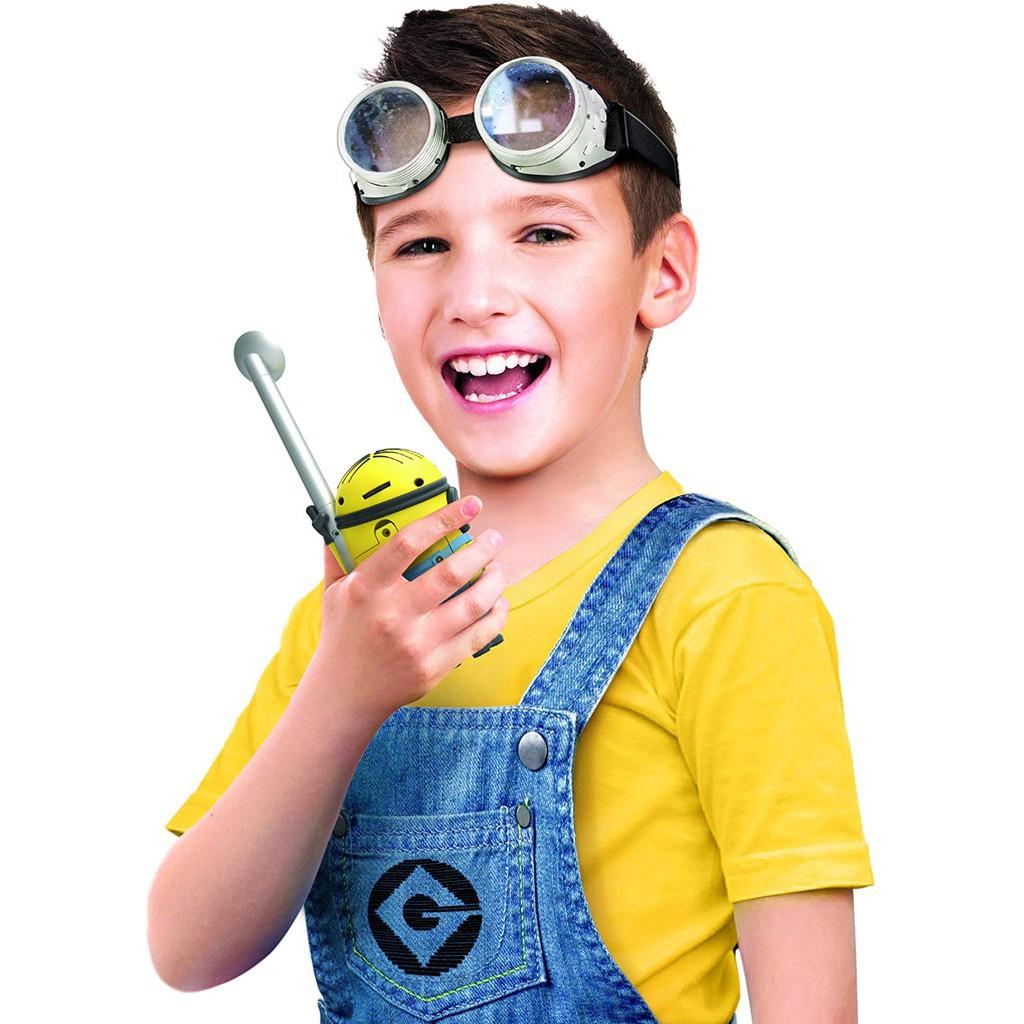 預購 👍正版空運 官方正貨►美國專櫃 Minions 小小兵 BOB 鮑伯 STUART 史都華 對講機