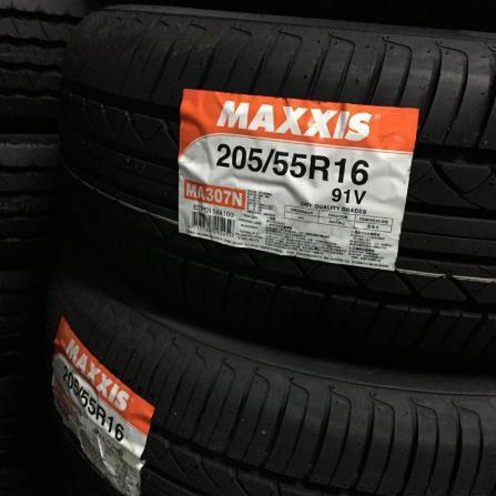 小任輪胎MA307N /205/55/16台灣瑪吉斯輪胎/特價/完工/含四輪定位/免費調胎/米其林/專業施工