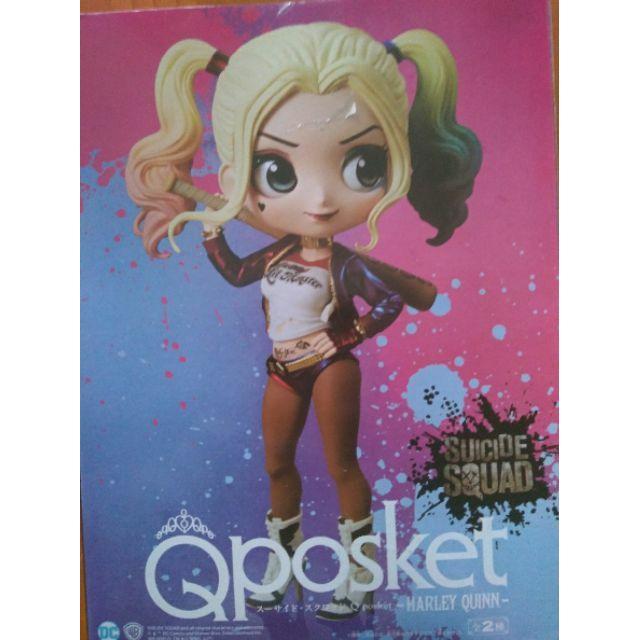 現貨 港版 DC Q POSKET 小丑女 哈莉奎茵 Harley Quinn 寬盒 公仔