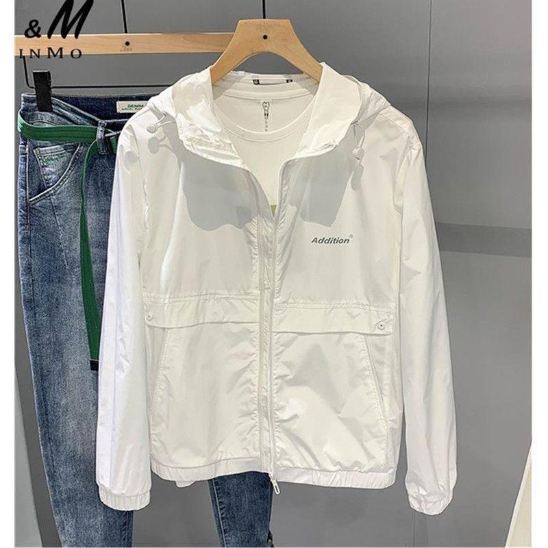機能防護夾克 機能防護外套 夾克 外套 防飛沫2021夏季新款防曬服超薄外套男士夾克寬鬆潮流帥休閒情侶防曬衣潮