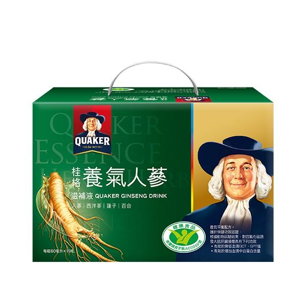 桂格養氣人蔘盒裝(19瓶入)【康是美】