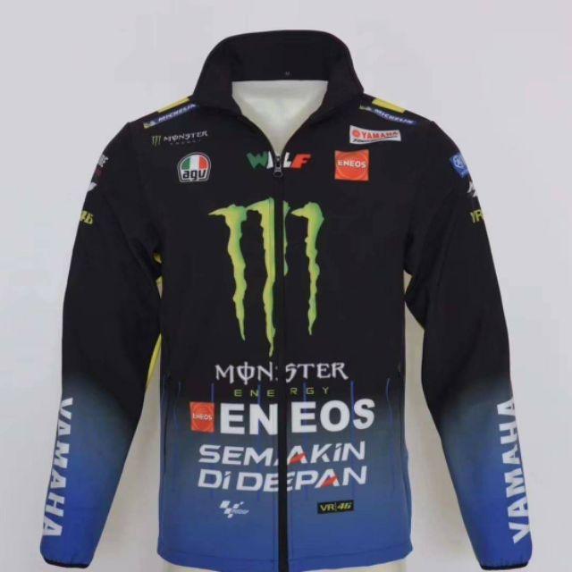 2020 11月新款 山葉 YAMAHA MOTOGP 鬼爪MONSTER ENEOS 賽車T恤滑衣衝鋒衣外套