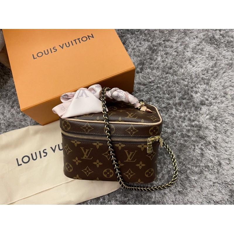 已保留勿下單 Louis Vuitton nice mini LV化妝包