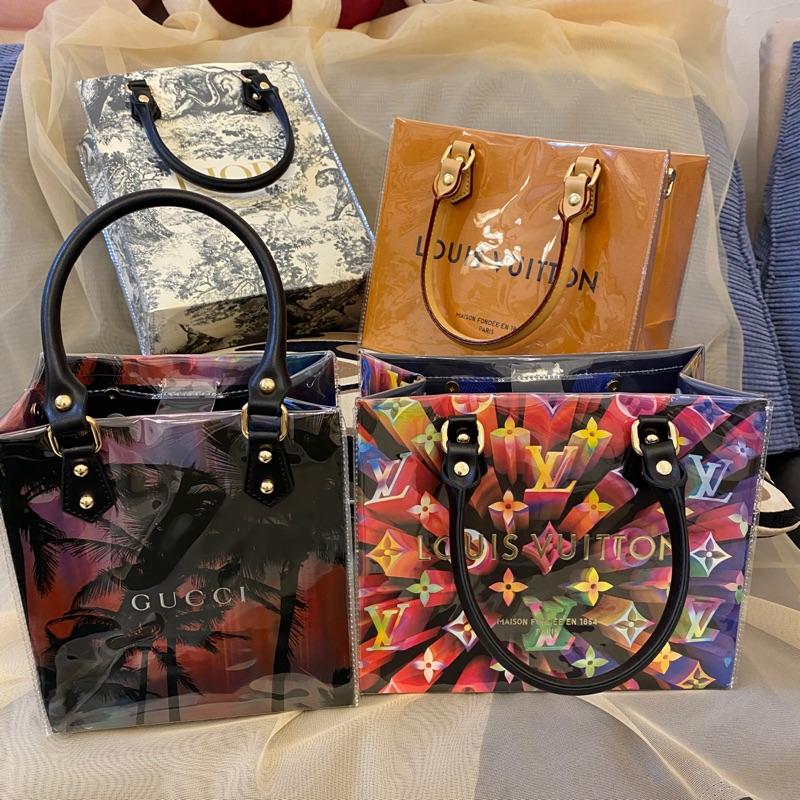 LV紙袋包 LV紙袋改造包 Dior紙袋 Gucci紙袋 Burberry紙袋- 完成品❤️現貨❤️