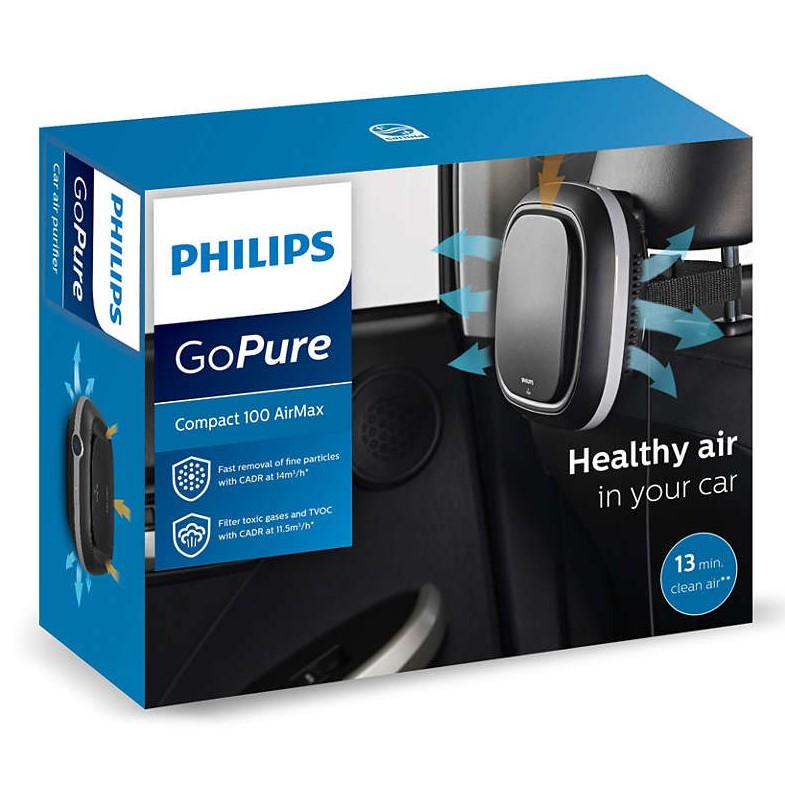 【PHILIPS 飛利浦】 車用 輕巧型 空氣清淨機 GoPure Compact100 Airmax