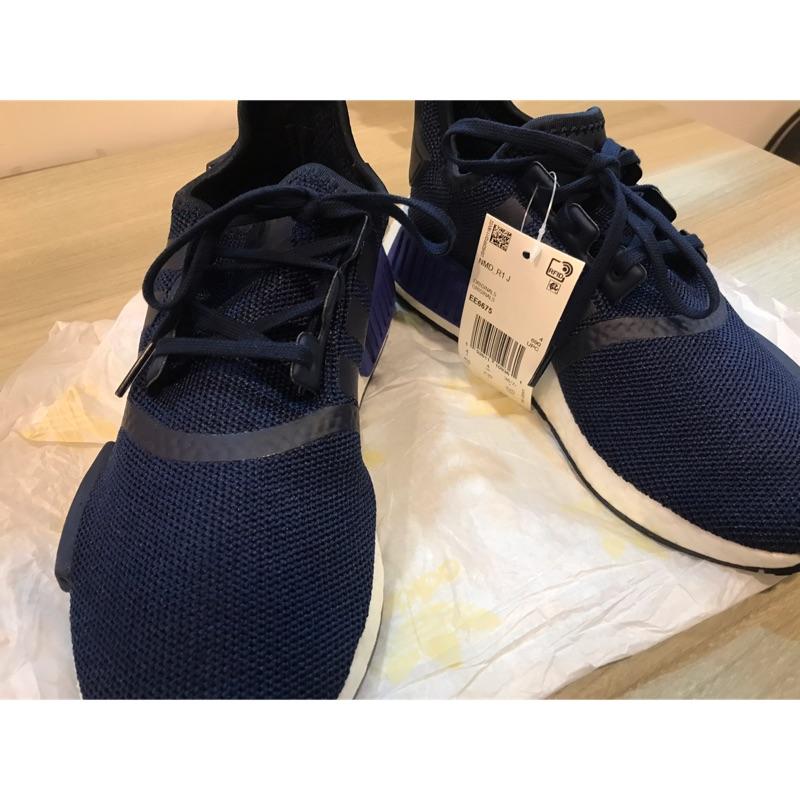 Adidas 女 NMD R1 J 深藍 東京藍 EE6675