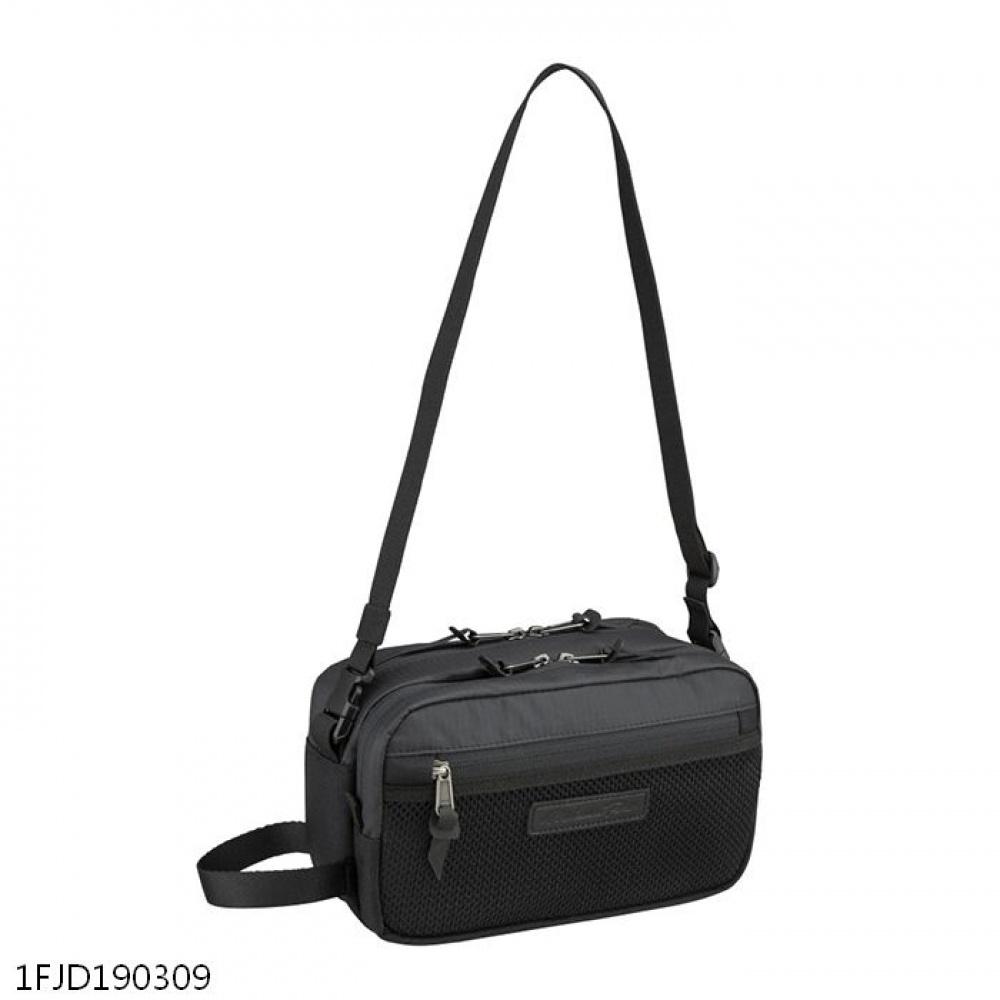 日本原裝進口~美津濃 MIZUNO PRO 軍規防水CORDURA布料 側背包 手拿包 兩用包(1FJD190309)