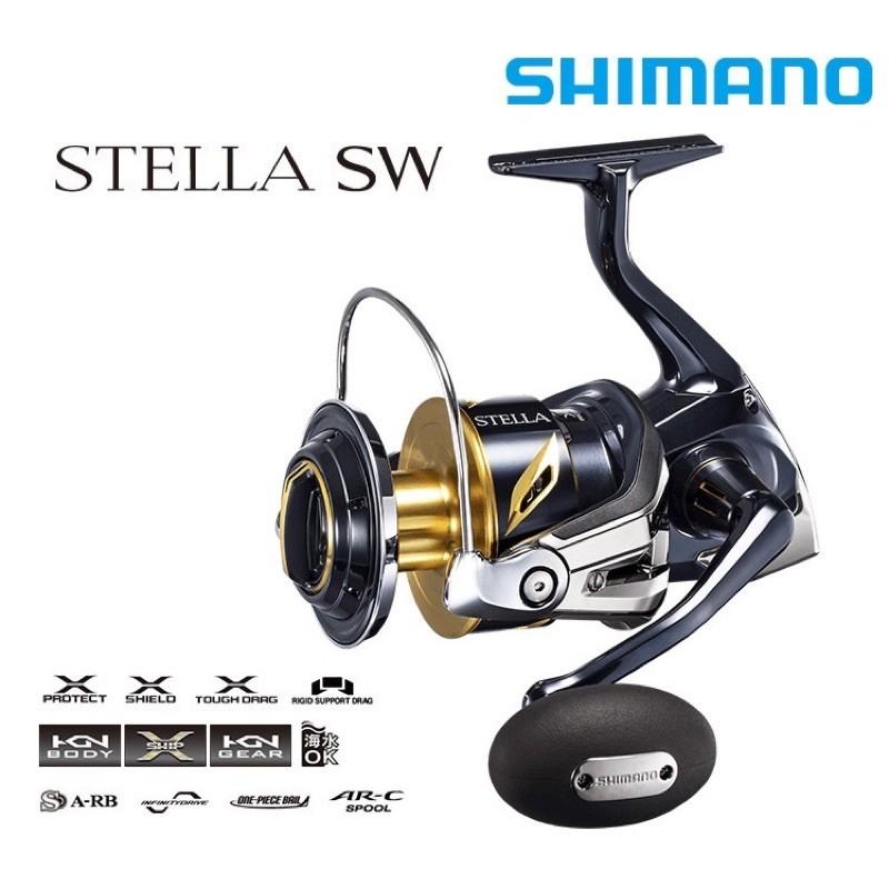 【馨馨路亞釣具】Shimano 20款STELLA SW紡車捲線器 日本製頂捲黑寶 船釣岸拋 路亞