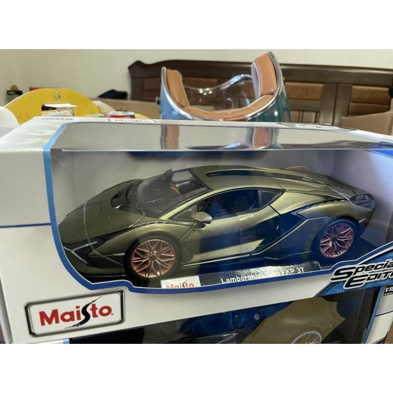 全新現貨Maisto 1:18 Lamborghini SIAN FKP 37 Hybrid 1/18