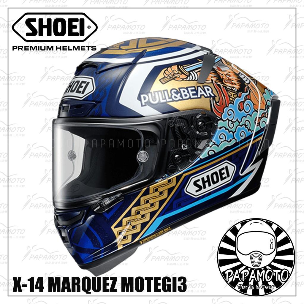 【趴趴騎士】SHOEI X14 Marquez Motegi3 TC-2 祭典帽 (公司貨 MM93 motogp 茂木
