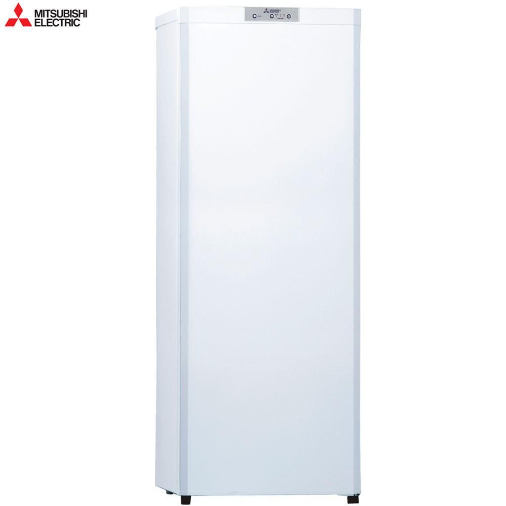 【MITSUBISHI 三菱】自動除霜 144公升直立式冷凍櫃 急速冷凍 MF-U14P-W-C
