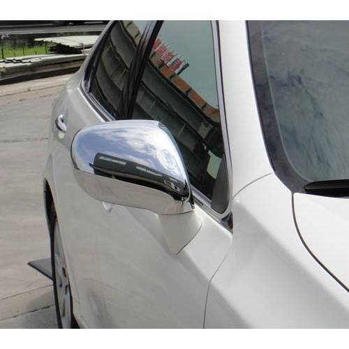 圓夢工廠 Lexus 2006~2009 ES300 ES330 ES350 質感改裝 鍍鉻銀後視鏡蓋飾貼 防撞後照鏡蓋