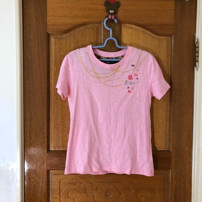 【BIG TRAIN】戀鍊小葵短袖T恤上衣-女-粉紅