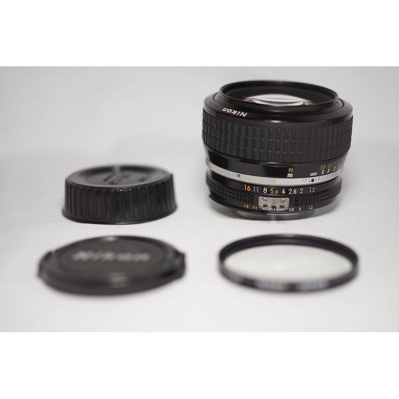 頂級大光圈 Nikon NIKKOR 50mm F1.2 Ai
