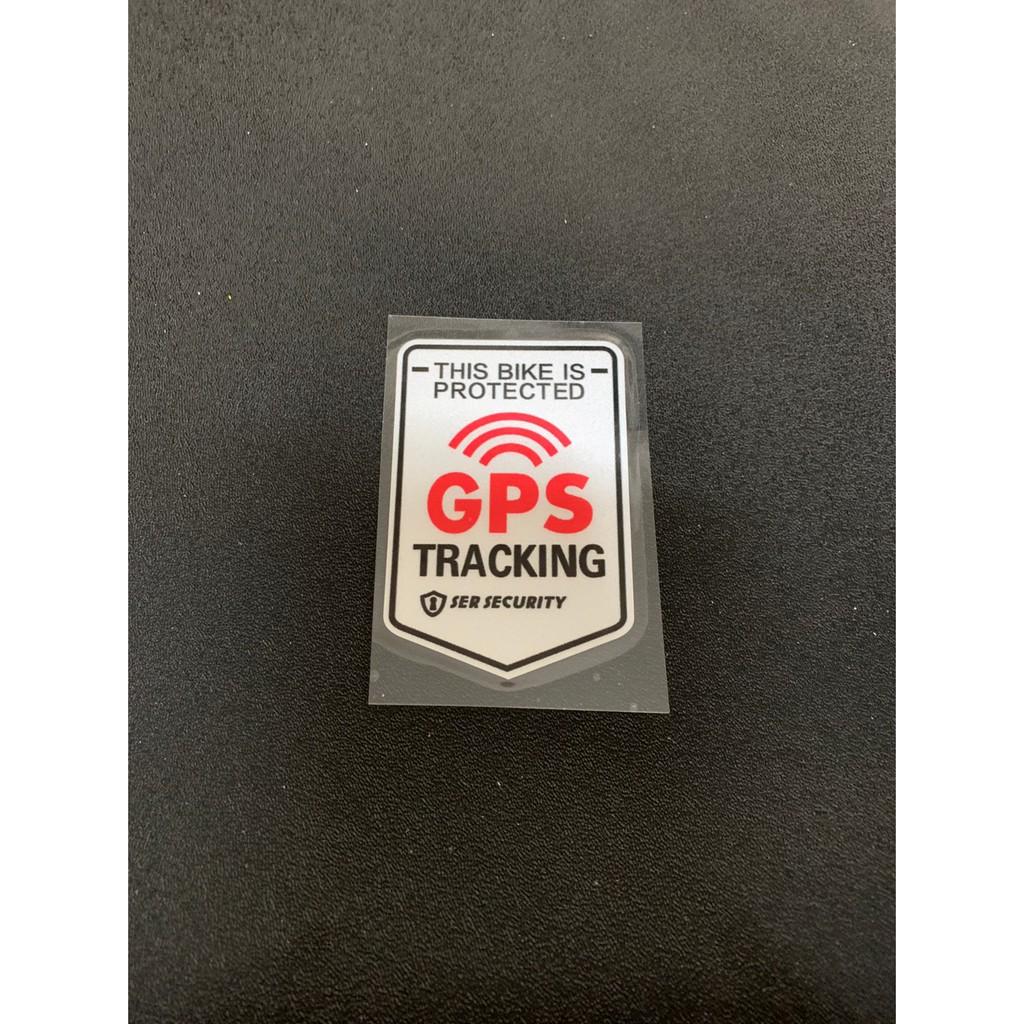 【BME】全新 Bike造型貼紙 GPS anti-theft GPS防盜中, 電動車, 戰狼, INSKEY 22美猴