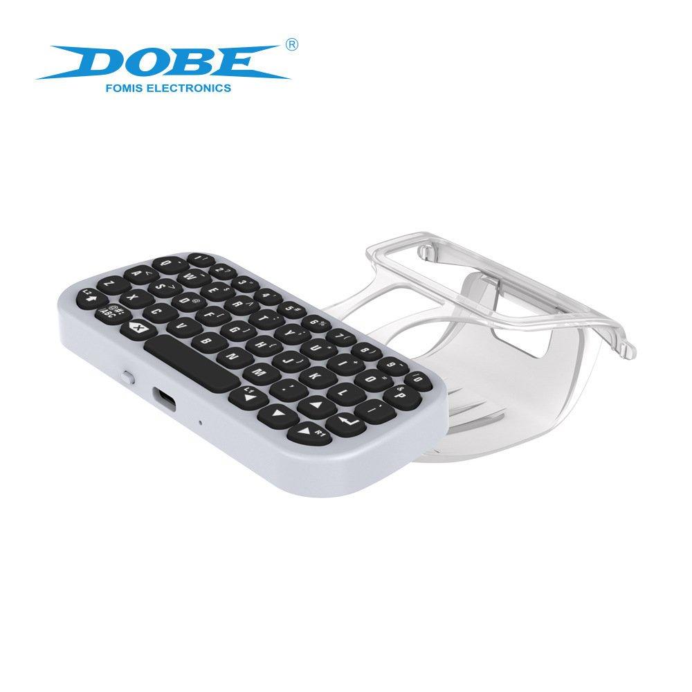 【現貨】DOBE PS5手柄鍵盤外接帶夾子PS5可聊天語音鍵盤 TP5-0556【速發】