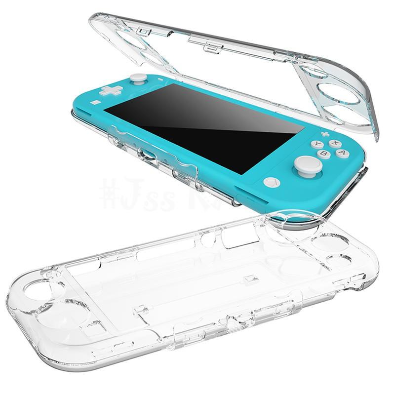 NS Switch Lite 透明水晶殼 保護殼 硬殼 透明殼 水晶殼 適用於任天堂LITE主機 透明硬殼【就是要玩】