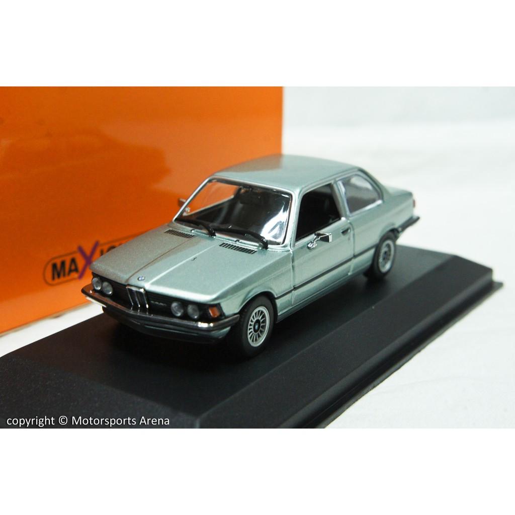 【超值特價】1:43 Minichamps BMW 323i E21 1975 銀色