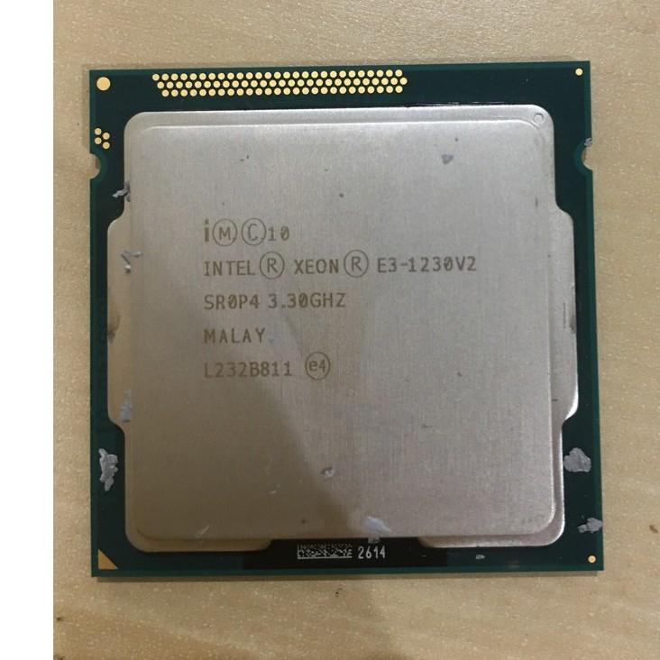 我最便宜 二手良品CPU INTEL xeon e3-1230 v2   e3-1220 v2  1155腳位