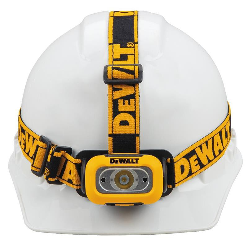 DEWALT DWHT81424 200流明LED頭燈 工作燈 明燈(不含電池及安全帽)