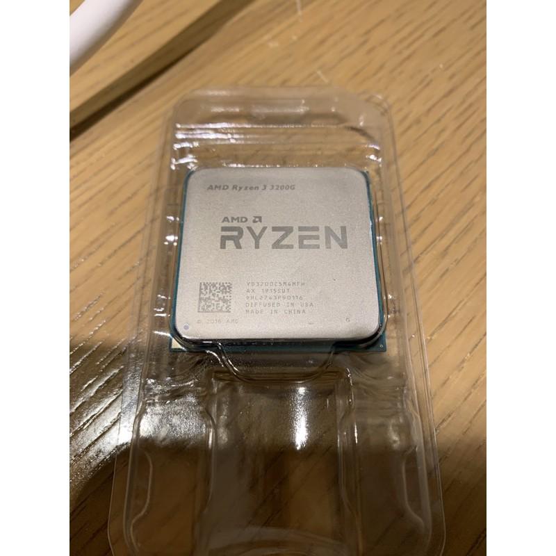 散裝 AMD Ryzen R3 3200G 單CPU ( i3 i5 r5 參考) Hyper212風扇搭售