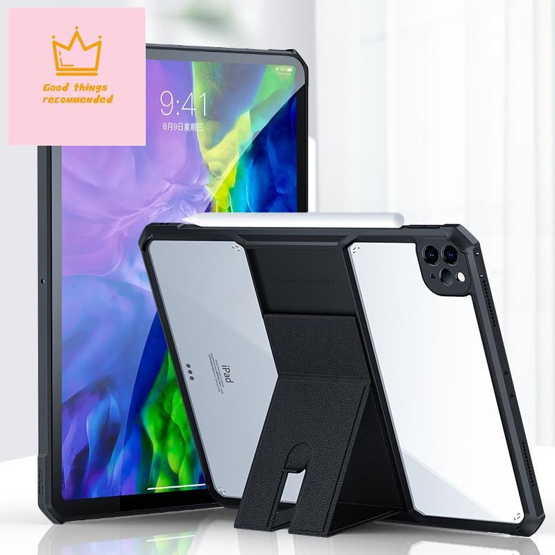 Xundd 訊迪適用於 iPad Pro 11 12.9 保護殼 2021 2020 平板電腦保護套-帶支架