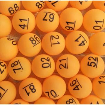 Y532-50 1-50號尾牙抽獎數字球 數字球 數字球 抽獎球 賓果球 開獎球 號碼球 數字球 尾牙