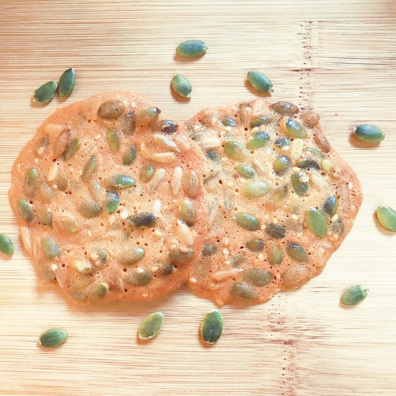 手工南瓜子脆片 180克/包【台北譽展蜜餞行】