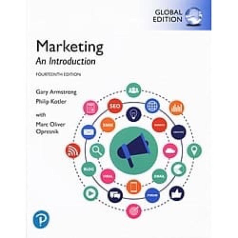 《現貨》marketing an introduction (GE)14e原文書