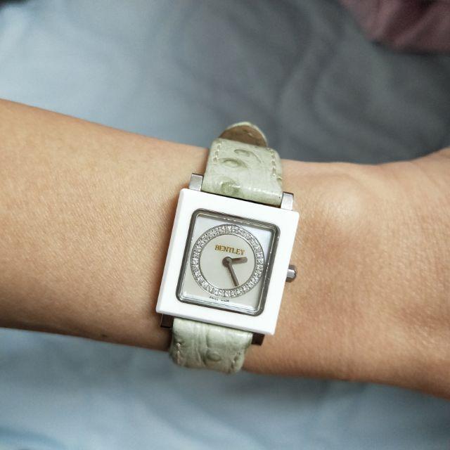 BENTLEY 真鑽陶瓷錶,收藏好物