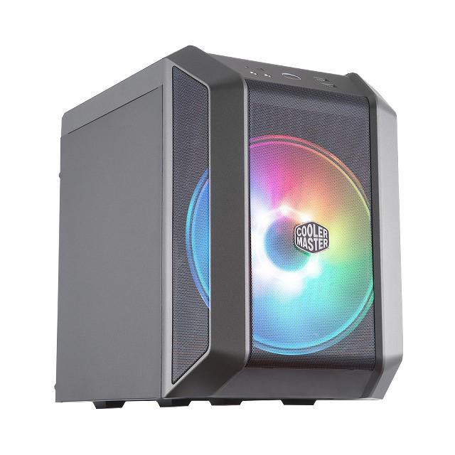 Cooler Master酷瑪r MasterCase H100 ARGB 機殼(Mini-ITX專用)【神麒數位】