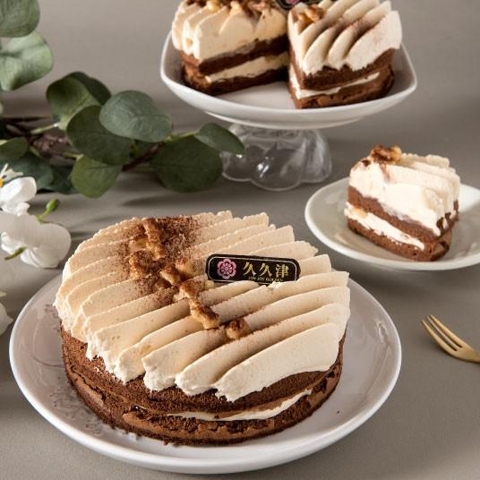 [久久津乳酪]母親節新品 6吋 太妃核果巧克力蛋糕
