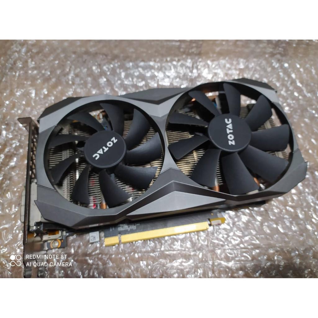 ★保固2022.06★索泰 ZOTAC GeForce GTX 1060 6GB GDDR5X 顯示卡 A491