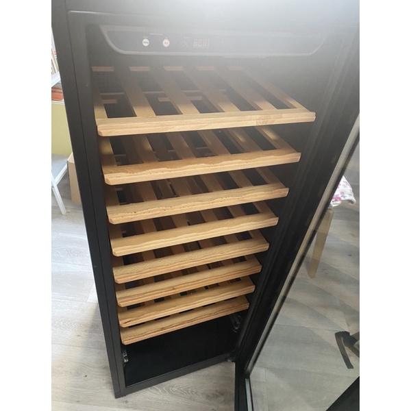 二手家具高雄X50616AJA海爾160公升紅酒櫃雙門冰箱