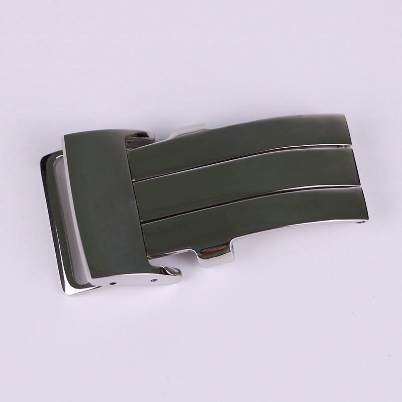 百年靈Breitling代用表扣 皮帶表扣 316精鋼折疊扣