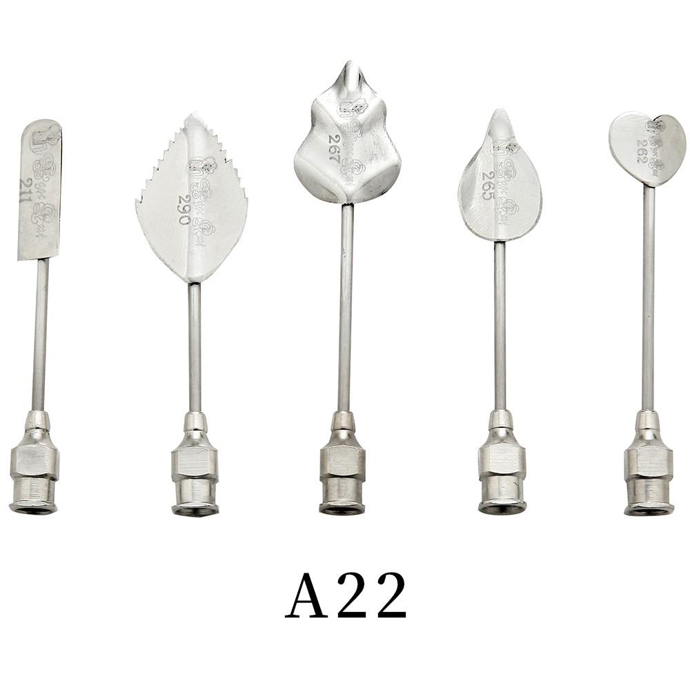 優果《越南進口不鏽鋼果凍花針A22》每組內含5支針