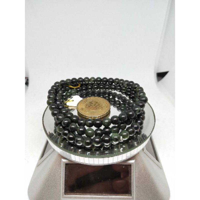 花蓮墨玉108顆6mm珠,一串(特價中)