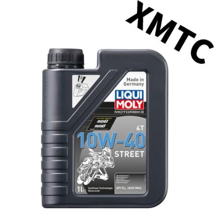 LIQUI MOLY 力魔 LM STREET 4T 10W40 頂級長效合成 高耐溫MA2 機油
