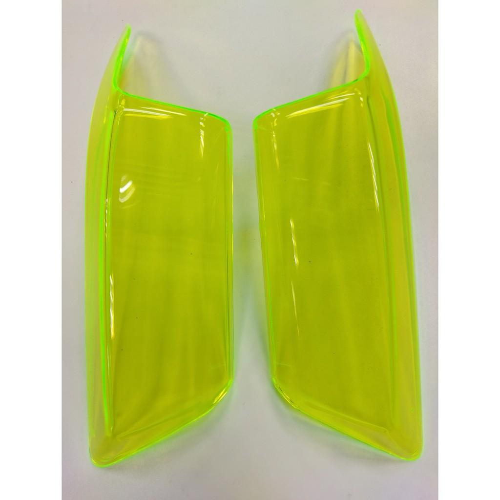 正MOTO EPIC部品 勁戰四代 4代勁戰 燈殼貼片 前方燈貼片  尾燈貼片 小燈貼片 黃色